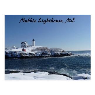 Maine Lighthouse 3 Postcards