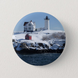 Maine Lighthouse 4 Button