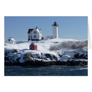 Maine Lighthouse 4 Card