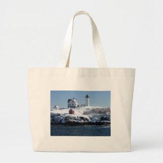 Maine Lighthouse 4 Jumbo Tote Bag