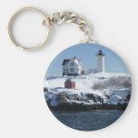 Maine Lighthouse 4 Keychain