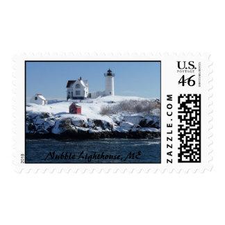 Maine Lighthouse 4 Postage