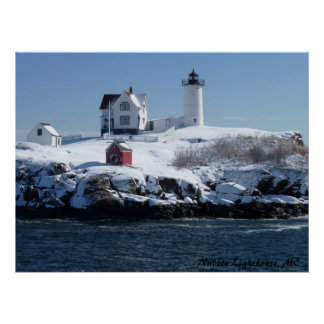 Maine Lighthouse 4 Poster