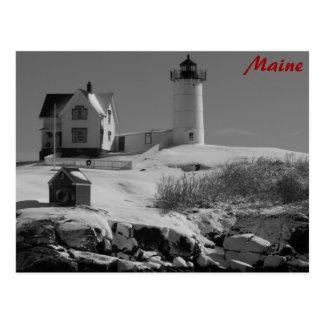 Maine Lighthouse 5 Post Card