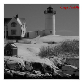 Maine Lighthouse 5 Poster