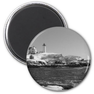 Maine Lighthouse 7 2 Inch Round Magnet