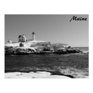 Maine Lighthouse 7 Post Card