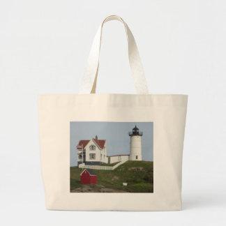 Maine Lighthouse Canvas Bags