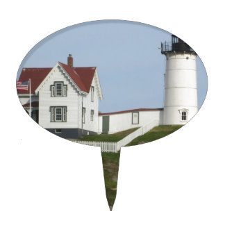 Maine Lighthouse Cake Toppers