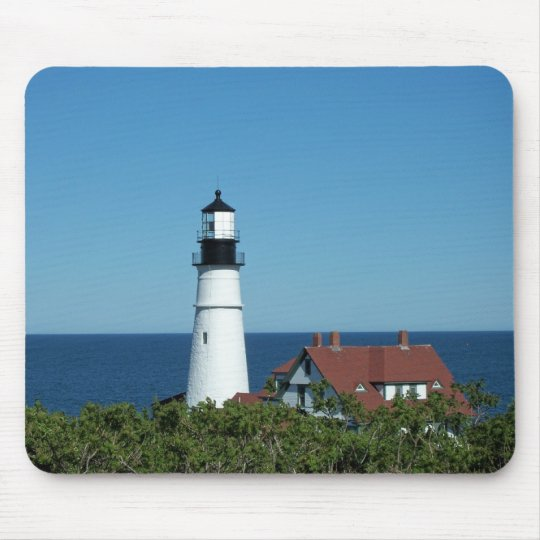 Maine Lighthouse Mouse Pad