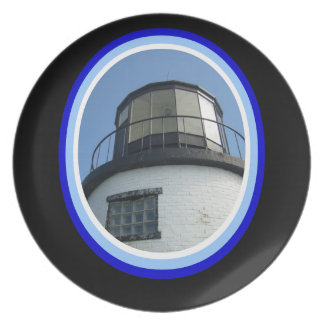 Maine Lighthouse Plate