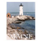 Maine Lighthouse Post Card