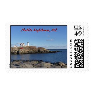 Maine Lighthouse Postage Stamp