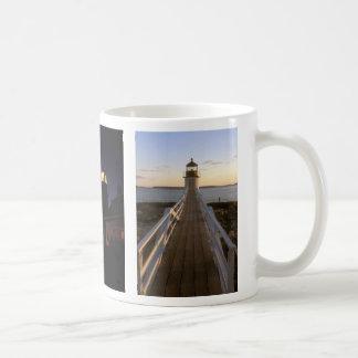Maine Lighthouses Pemaquid Marshall Quoddy Mug