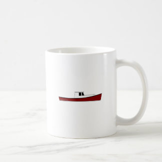 Maine Lobster Boat Coffee Mug