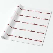 Maine Lobster Boat Wrapping Paper