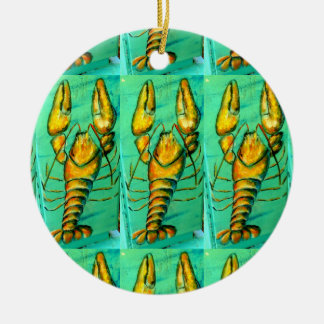maine lobster green ornament