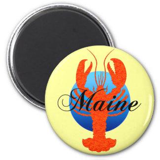 Maine lobster fridge magnet