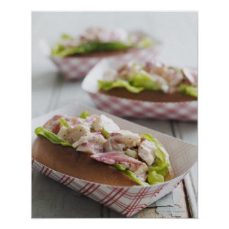 Maine Lobster Roll Poster