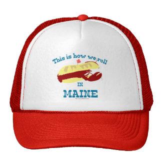 Maine Lobster Roll Trucker Hat