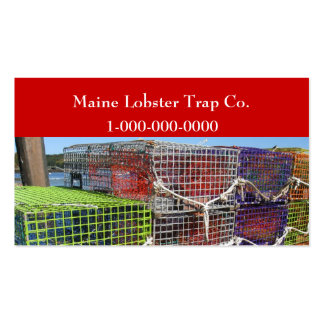 Maine Lobster Trap Business Card