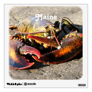 Maine Lobster Room Decals
