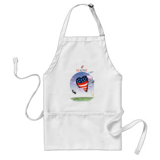 maine loud and proud, tony fernandes adult apron