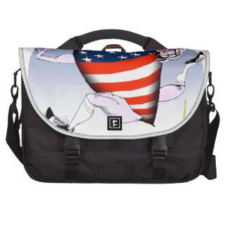 maine loud and proud, tony fernandes laptop messenger bag