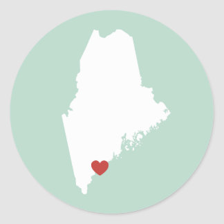 Maine Love - Customizable Sticker