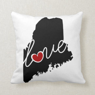 Maine Love!  Gifts for ME Lovers Pillows