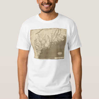 Maine Map by Arrowsmith T Shirt