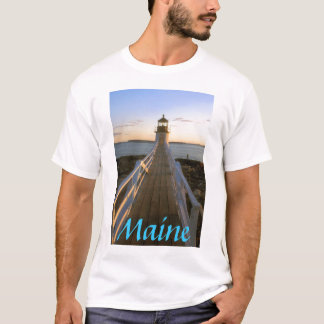 Maine Marshall Point Lighthouse T-Shirt