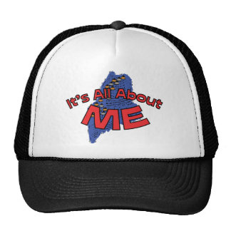 Maine ME US State Motto It s All About ME Hats