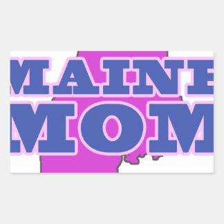 Maine Mom Rectangular Sticker