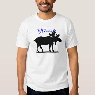 Maine Moose Tee Shirt