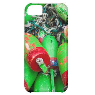 Maine, Mt. Desert Island, Bernard, lobster buoys 2 Cover For iPhone 5C