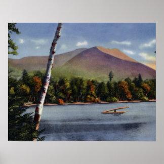 Maine Mt. Katahdin Posters