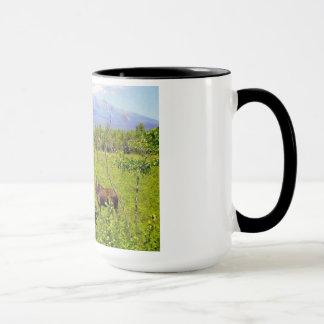 Maine Mugs, Mt. Katahdin, by katinas creations Mug