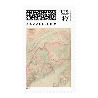 Maine, New Brunswick Postage
