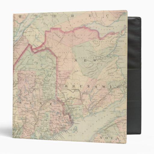 Maine, New Brunswick Vinyl Binders