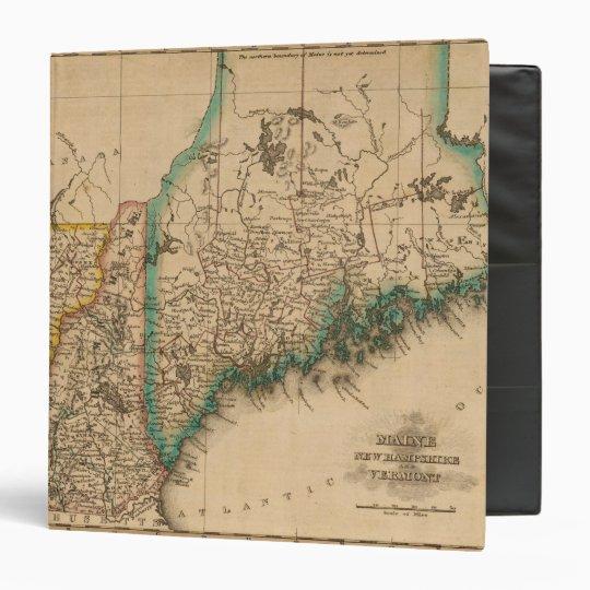 Maine, New Hampshire, Vermont 2 3 Ring Binder