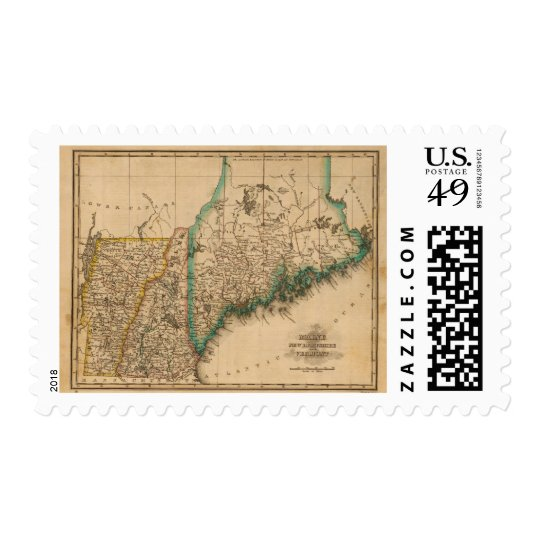 Maine, New Hampshire, Vermont 2 Postage