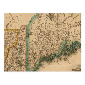 Maine, New Hampshire, Vermont 2 Tarjeta Postal