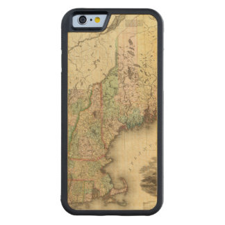 Maine, New Hampshire, Vermont, Massachusetts Funda De iPhone 6 Bumper Arce