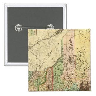Maine, New Hampshire, Vermont, Massachusetts Pin