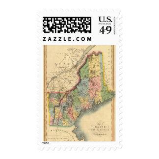 Maine, New Hampshire, Vermont Stamp