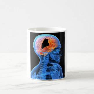 Maine on my Brain...mug! Coffee Mug