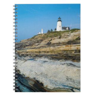 Maine, Pemaquid Point, Pemaquid Point Lighthouse Notebook