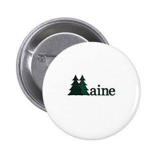 Maine Pin Redondo De 2 Pulgadas