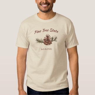 Maine Pine Cone T Shirt